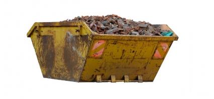 Removing waste via skips