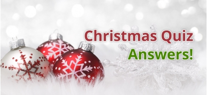 Leigh Skip Hire's Christmas Quiz - Answers!