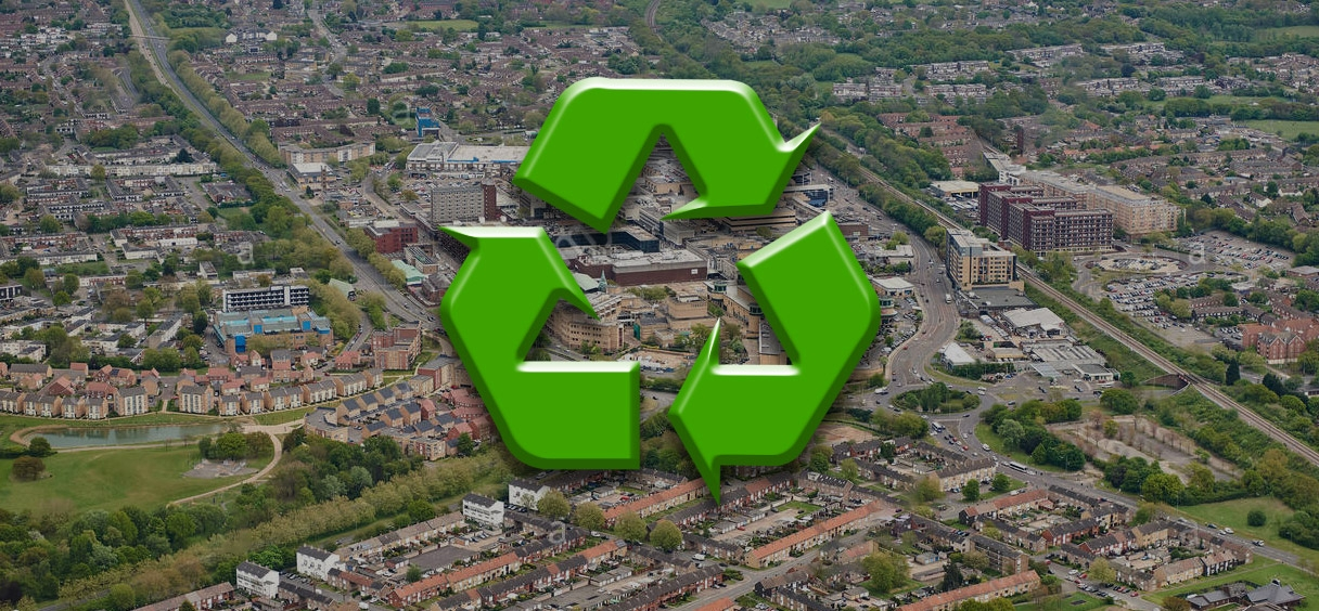 Lets get recycling in Basildon